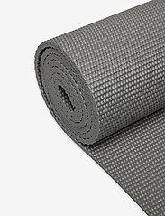 Gaiam - 6mm Essentials Yoga Mat Grey - joogamatot ja tarvikkeet - grey - 2