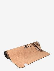 Gaiam - 5MM Printed Cork Yoga Mat Mandala - yogamatten en -accessoires - cork - 1