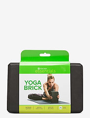 Gaiam - Yoga Brick Essential Black - yogamatten & uitrusting - black - 0