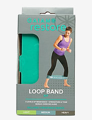 Gaiam - Restore Loop Band Kit - vastuskuminauhat - green, blue, grey - 0