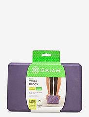Gaiam - Yoga Block Navajo Heron - joogablokit ja vyöt - purple - 2