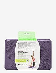 Gaiam - Yoga Block Navajo Heron - joogablokit ja vyöt - purple - 3