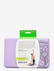 Gaiam - Yoga Block Lilac Point - yogamatten & uitrusting - lilac - 3