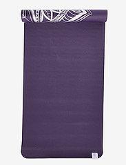 Gaiam - 6mm Yoga Mat Aubergine Madallion - joogamatot ja tarvikkeet - purple - 4