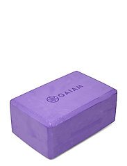 GAIAM YOGA BLOCK PURPLE - PURPLE