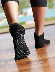Gaiam - Grippy Yoga Socks - yogamatten & uitrusting - black - 0