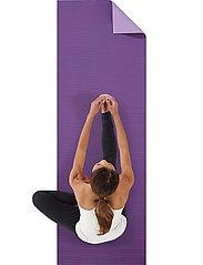 Gaiam - 6mm Yoga Mat Premium 2-Color Plum Jam - yogamatten en -accessoires - purple - 0