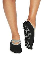 Gaiam - Grippy Yoga Barre Socks - black - 3