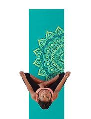 Gaiam - 6MM Yoga Mat Capri - yogamatten en -accessoires - turquoise - 0