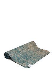 5mm Yoga Mat Jute - BLUE