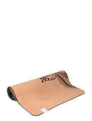 5MM Printed Cork Yoga Mat Mandala - CORK