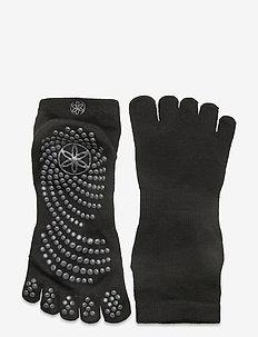 Grippy Yoga Socks M/L - yoga mats & equipment - black