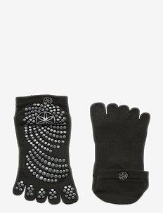 Grippy Yoga Socks - yogasokken - black