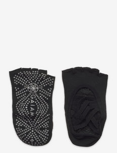 GAIAM Studio Grip Yoga Socks - yogasokker - black