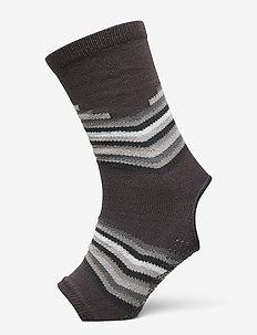 Grippy Yoga Anklets Smoky Grey - yogamattor & utrustning - smokey grey