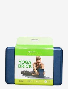 Yoga Brick Essential Blue - briques et sangles de yoga - blue