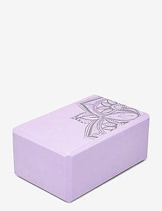 Yoga Block Lilac Point - yogamattor & utrustning - lilac