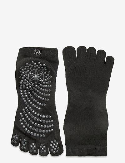 Grippy Yoga Socks M/L - yogasokker - black