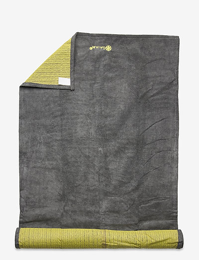 Grippy Mat Towel - yogamatter og tilbehør - citron storm