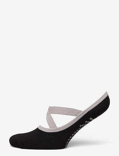 Grippy Yoga Barre Socks - yogasokker - black
