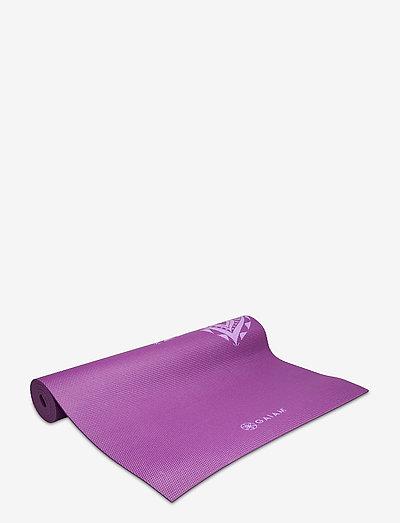 6mm Yoga Mat Pruple Mandala - yogamatter og tilbehør - purple