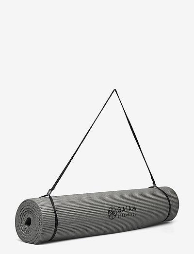 6mm Essentials Yoga Mat Grey - yogamatter og tilbehør - grey