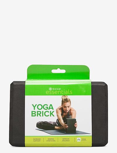 Yoga Brick Essential Black - yogablokker og stropper - black
