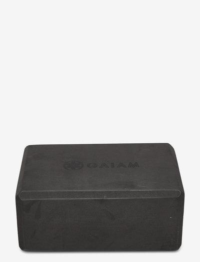 GAIAM Navajo Black Block - yogablokker og stropper - black