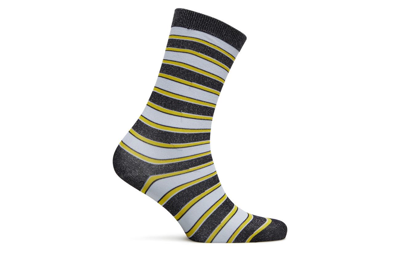 Stripes Lurex Black Polyester Polyamide 90 Ganni 10 SfOBqqw