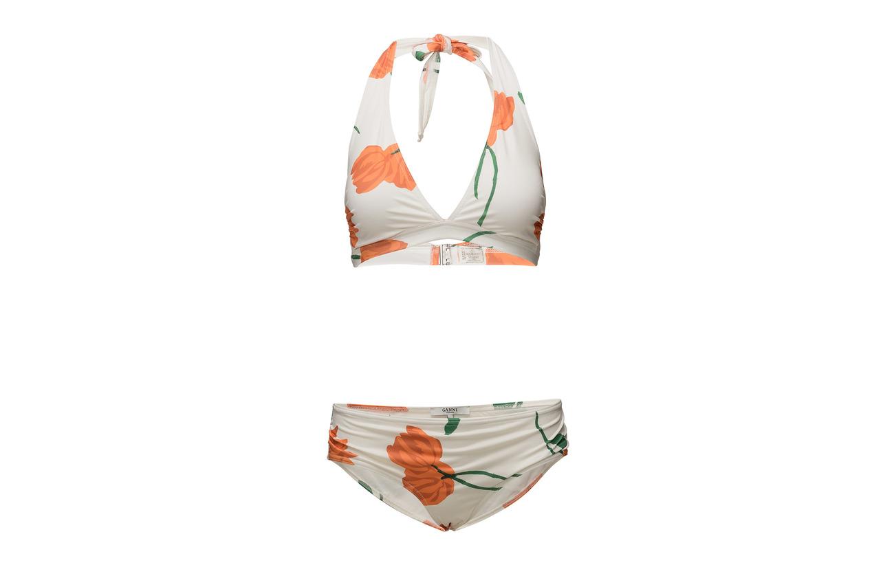 Doublure Ice 82 Polyamide Polyester 100 Swimwear Silverton 18 Ganni Vanilla En Elastane 0ApFq