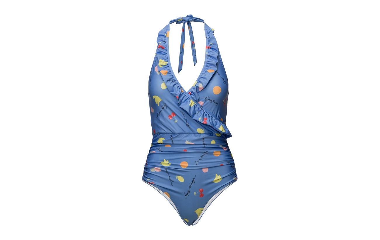 Doublure 83 Polyamide Ganni Marina Swimwear 17 Elastane Polyester Dexies 100 qO7Rx0v
