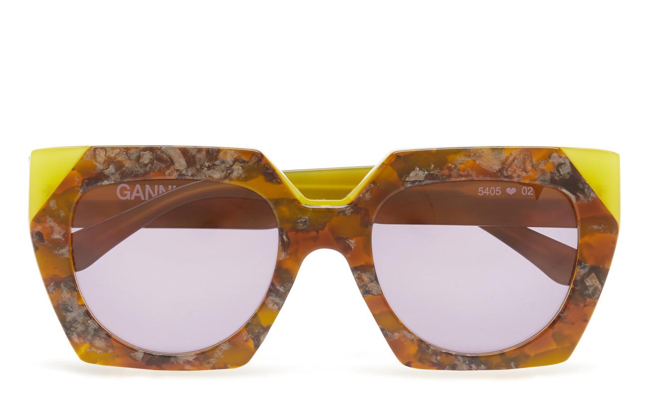 Ganni Double Layered Sunglasses - MAIZE