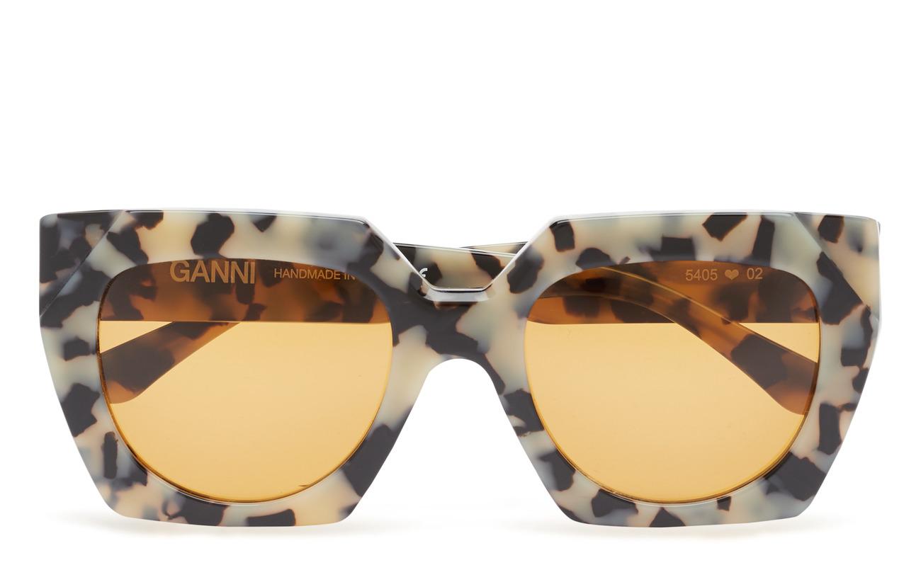 Ganni Double Layered Sunglasses - EGRET
