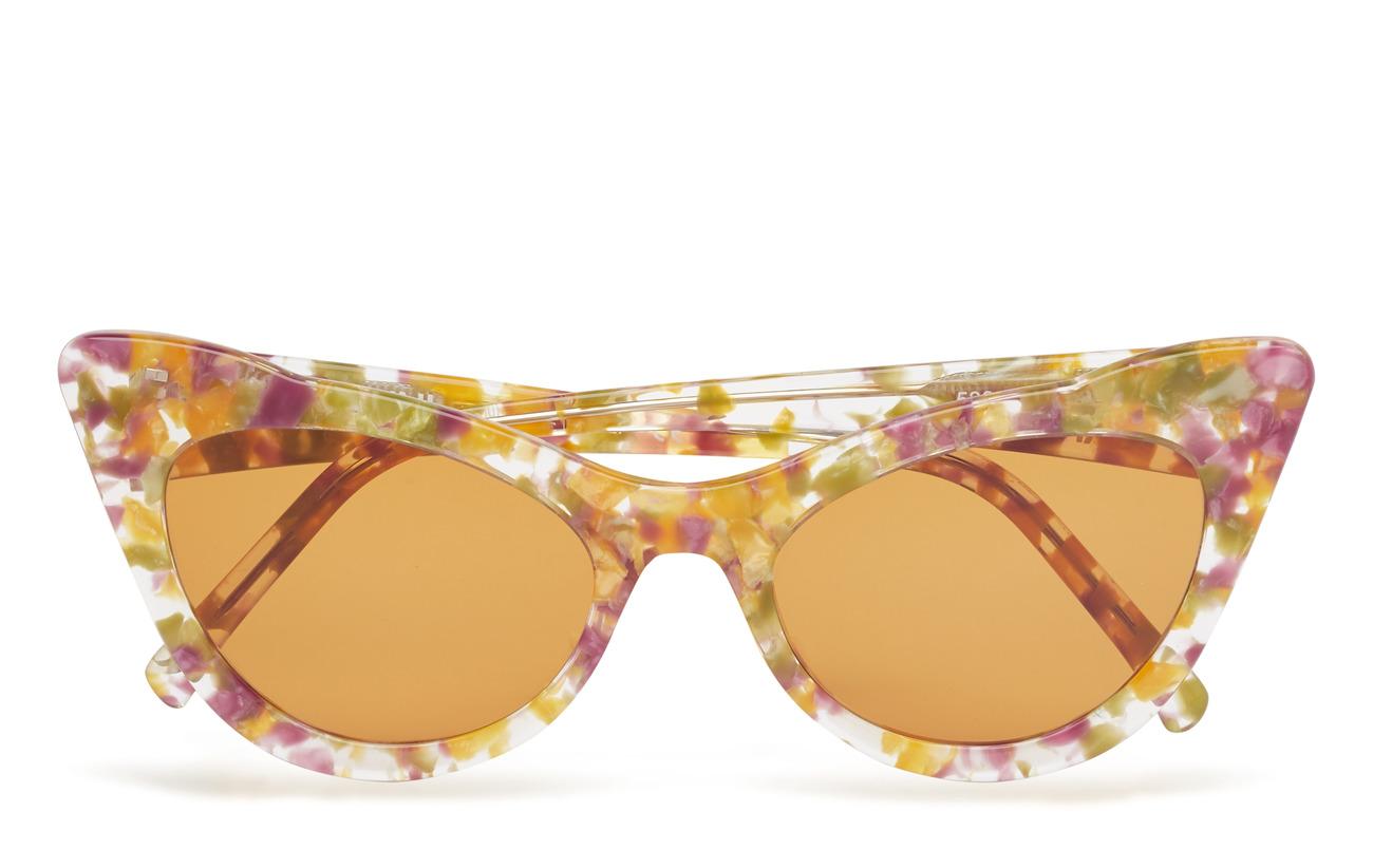 Ganni Cat-Eye Sunglasses - MAIZE