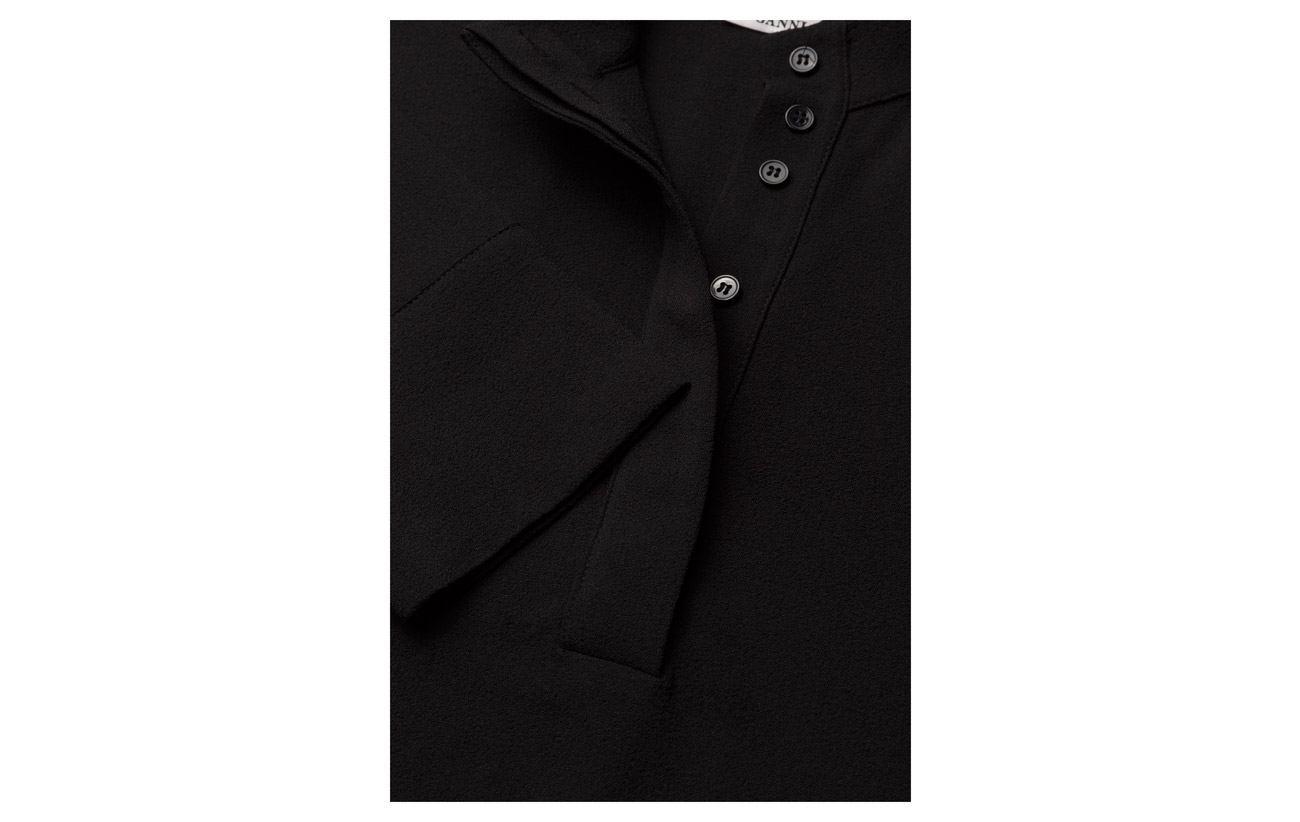 3 Clark Black Polyester Elastane 97 Ganni IzqpwP