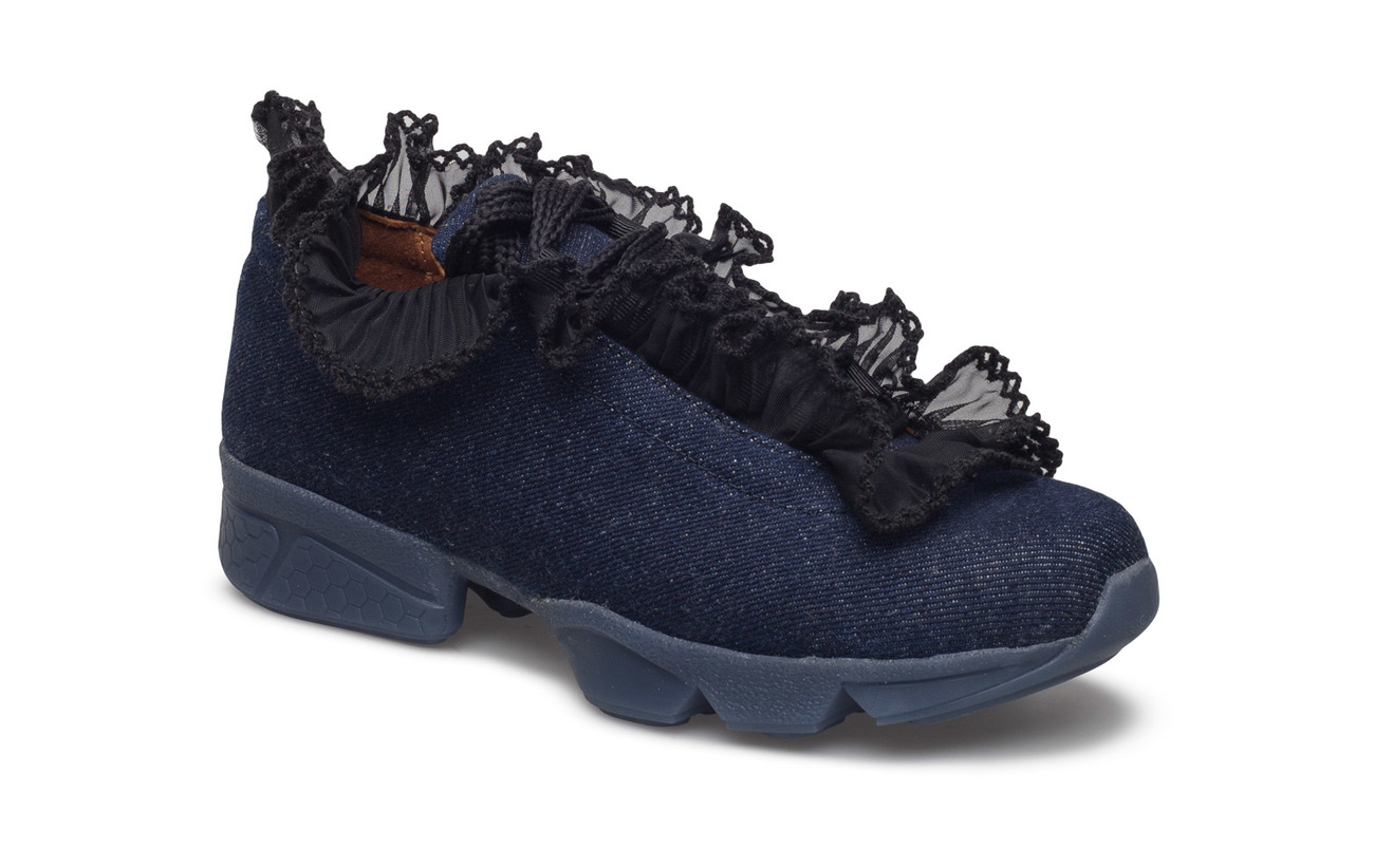 Ganni Ariana Sneakers (Denim), (97.65