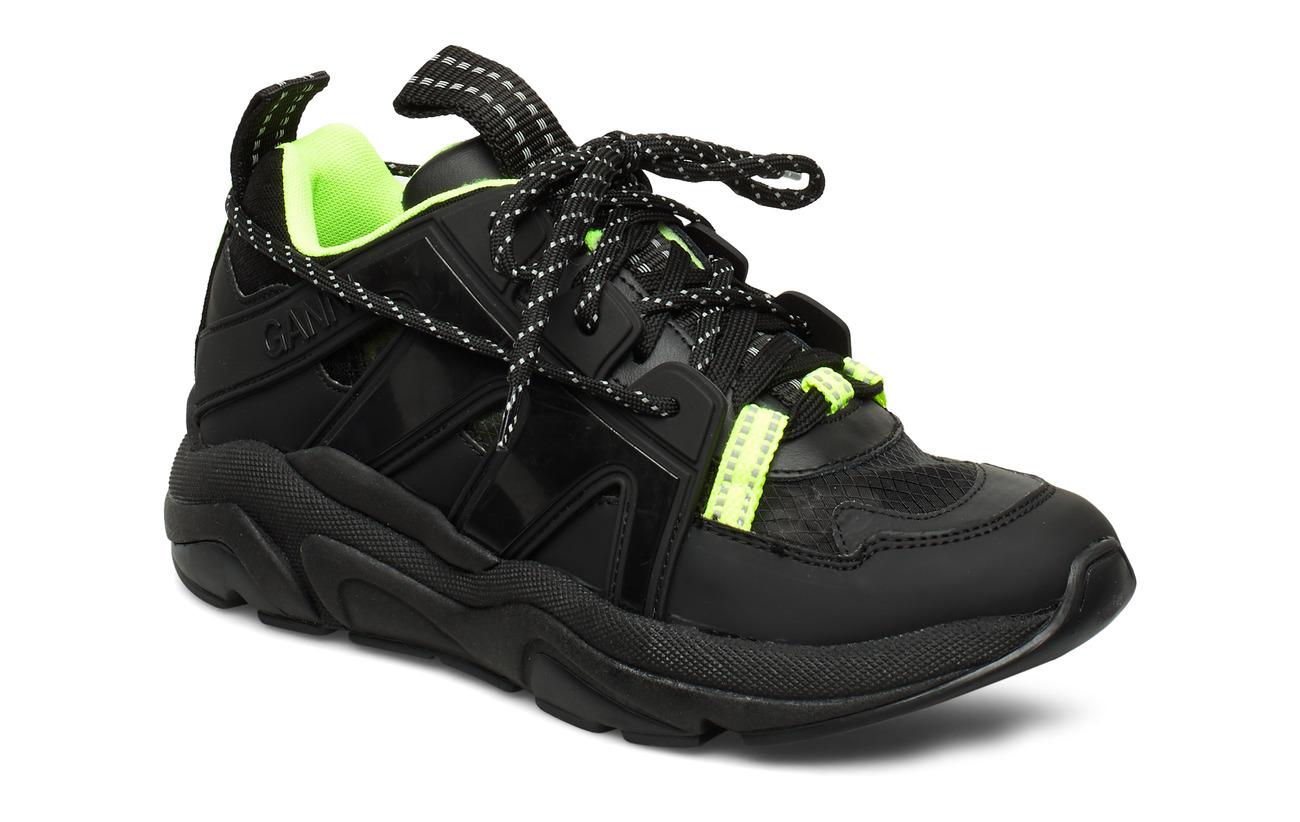 Ganni Tech Sneakers - BLACK