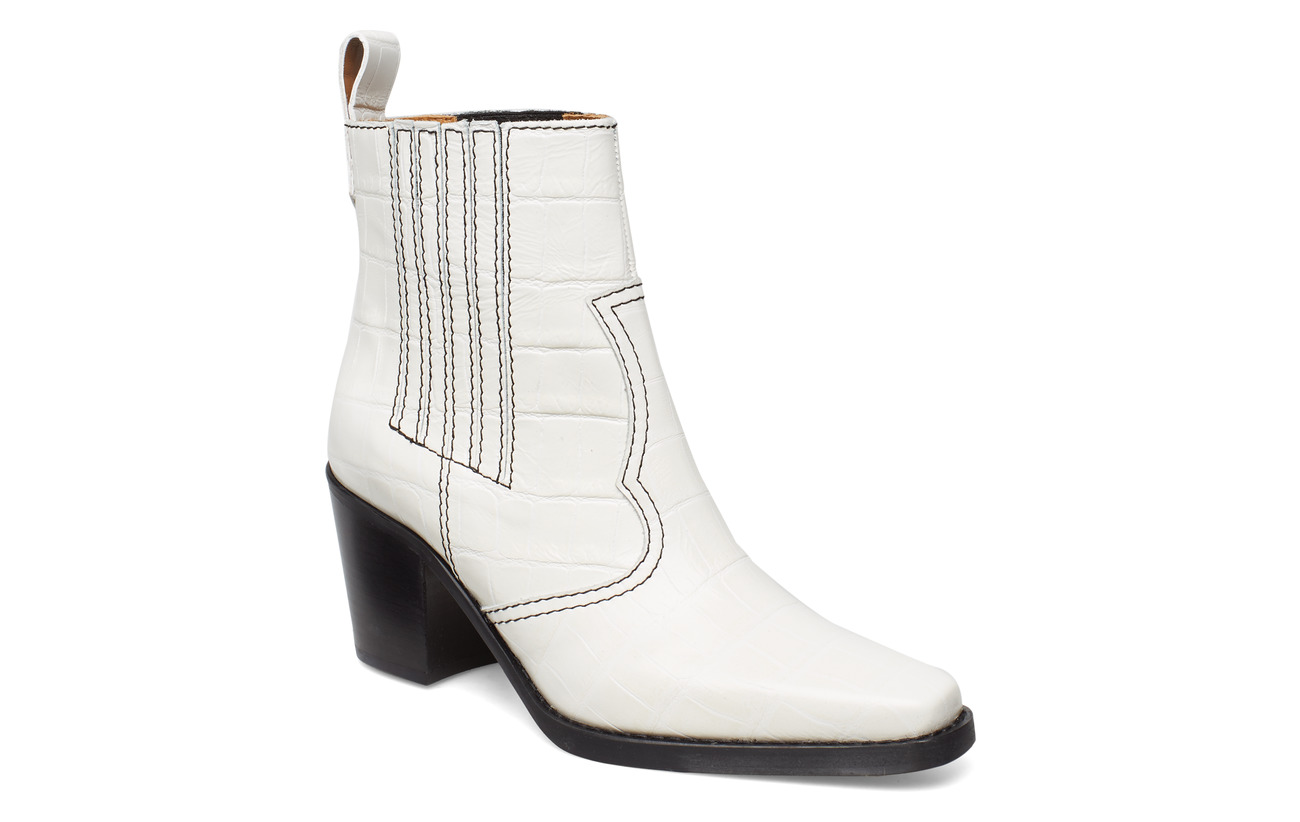 Ganni Western - BRIGHT WHITE