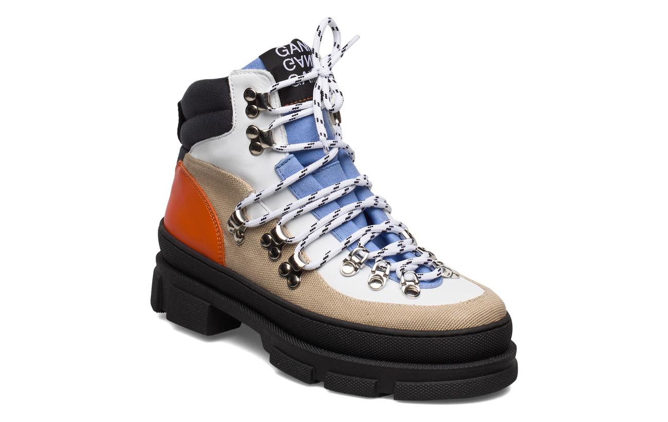 Ganni Sporty Hiking Boots (Tannin