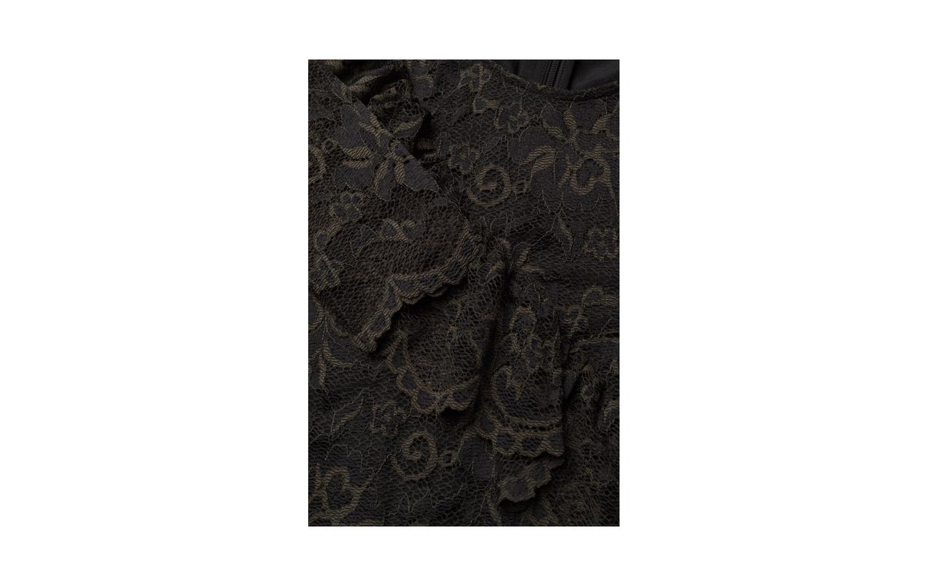 Flynn Polyamide 30 Black Lace Ganni Viscose Elastane 67 3 dpIUq