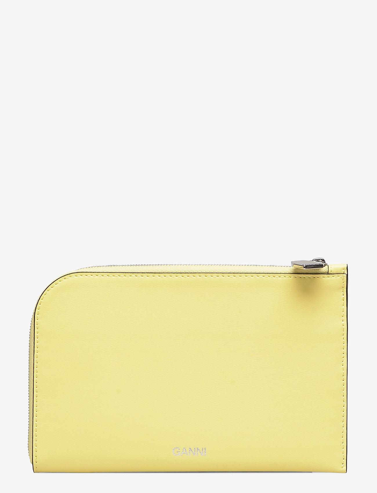 Ganni - Wallet - beurzen - lemon - 0