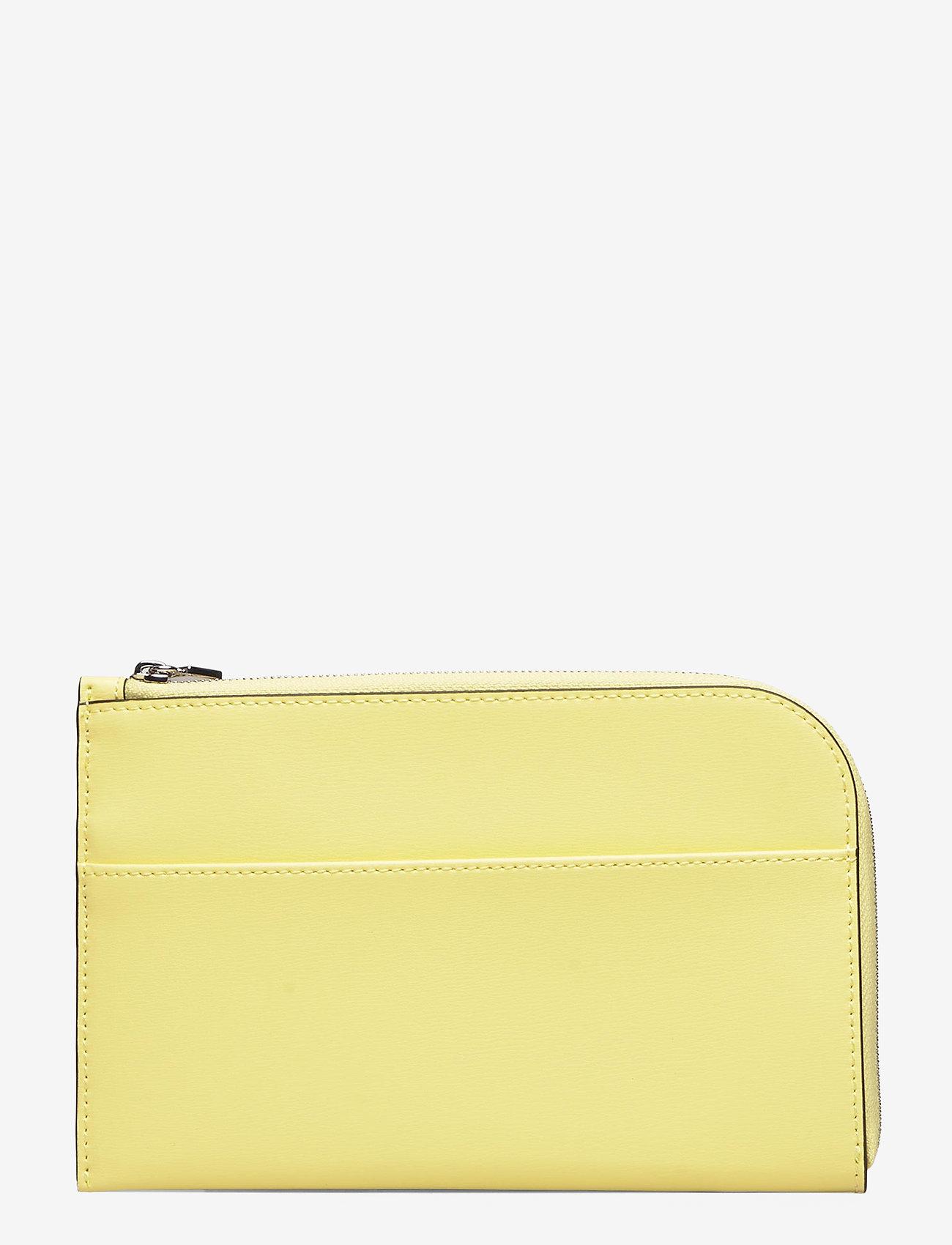 Ganni - Wallet - beurzen - lemon - 1