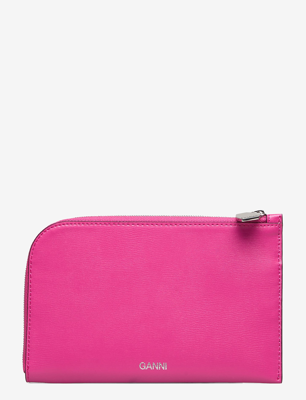 Ganni - Wallet - beurzen - shocking pink - 0