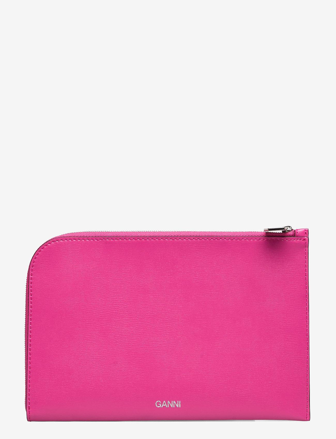 Ganni - Pouch - beurzen - shocking pink - 0