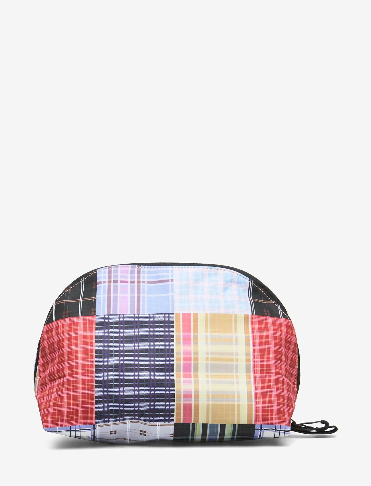 Ganni - Tech Fabric Toiletry Bag - torby kosmetyczne - forever blue - 1