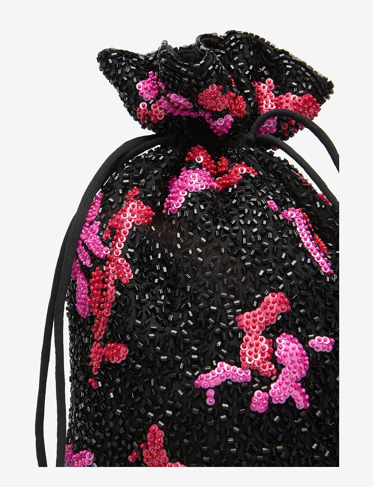 Ganni - Hand Beaded Accessories Purse - shoulder bags - black - 3