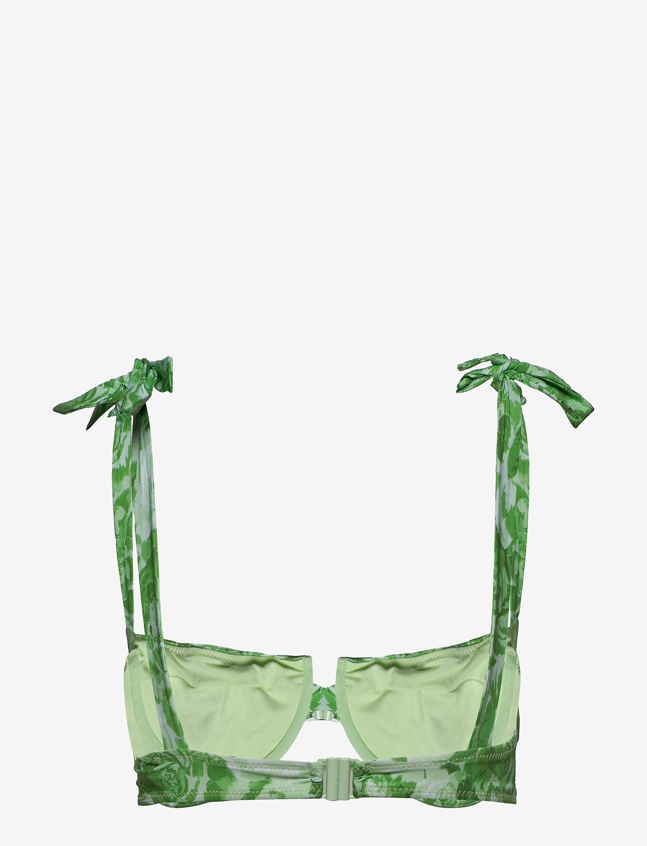 Ganni Recycled Fabric Swimwear - Stroje kąpielow PATINA GREEN - Kobiety Odzież.