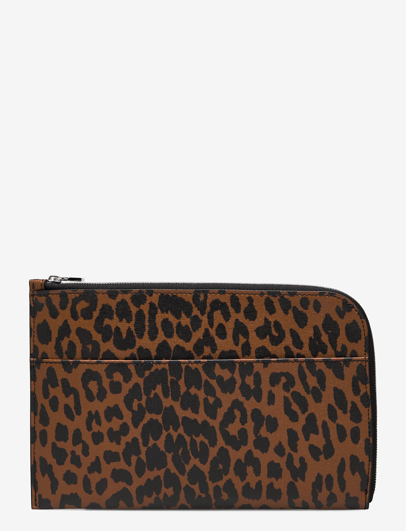 Ganni - Pouch Leather - bags - toffee - 1