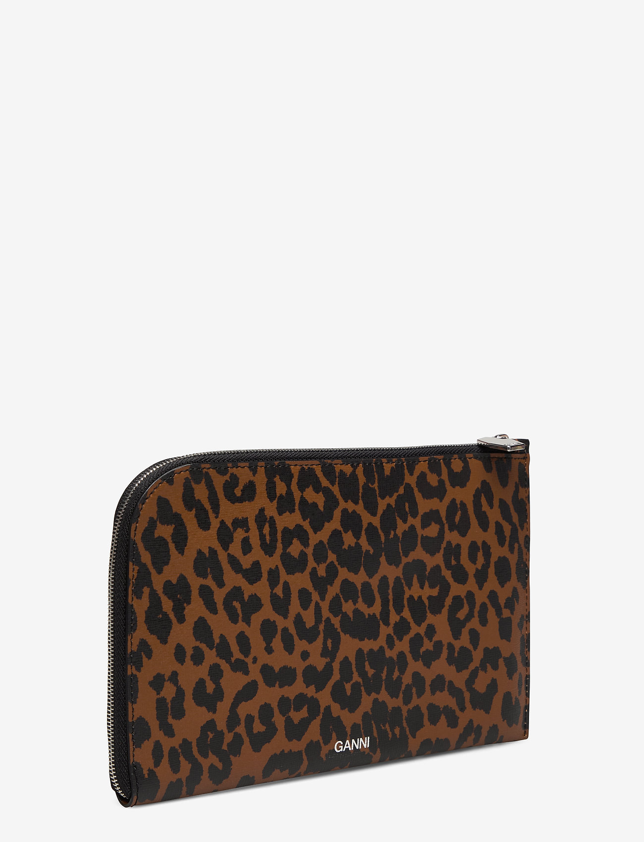 Ganni - Pouch Leather - bags - toffee - 2