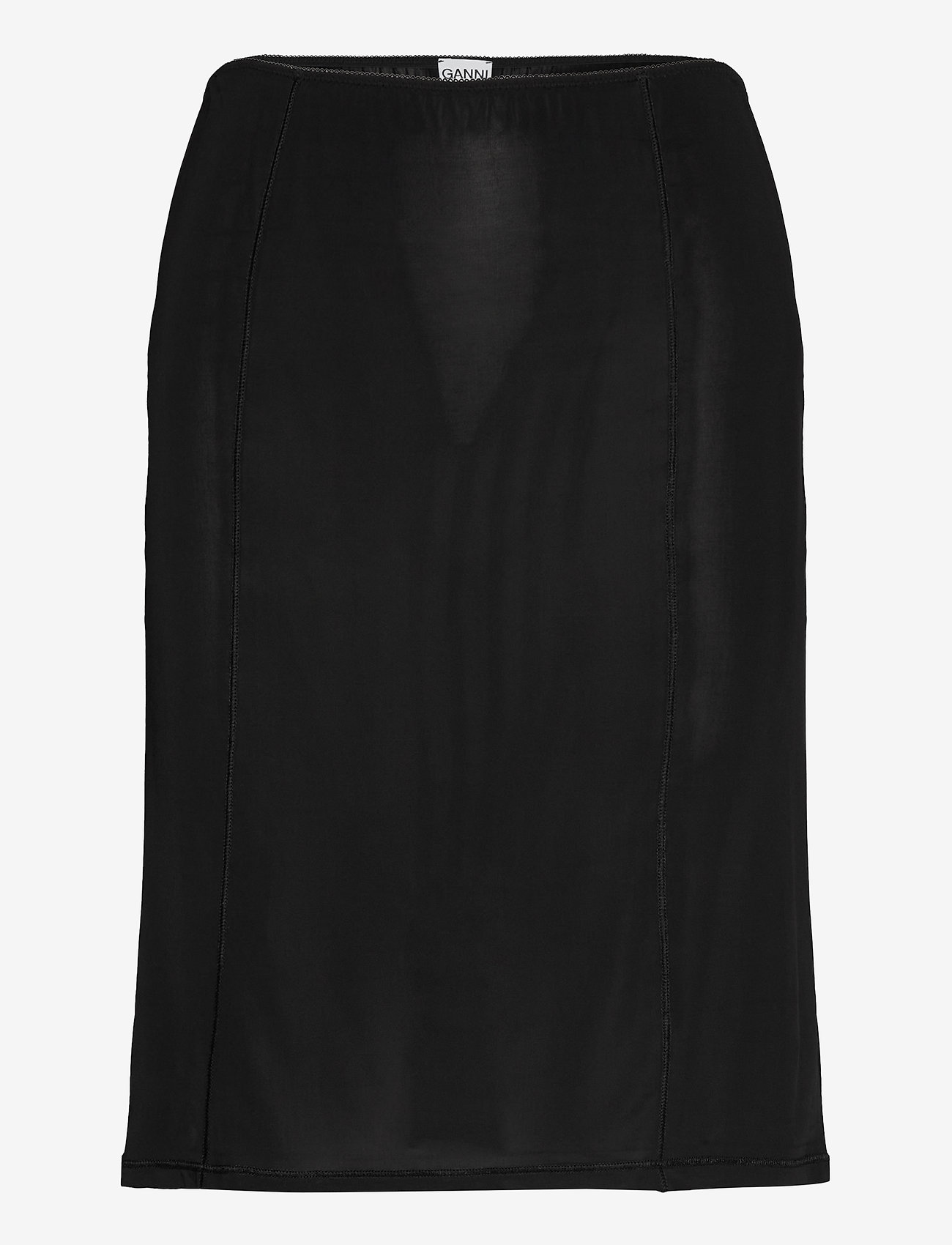 Ganni - Slip Skirt - bodies & slips - black - 0